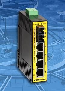 TURCK In-Cabinet, IP20 Ethernet Switches