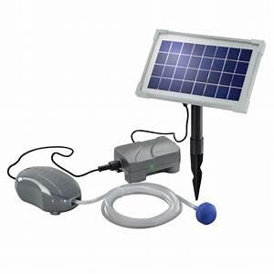 Bulleur Pour Bassin : bulleur solaire avec batterie air plus solairepratique ~ Premium-room.com Idées de Décoration