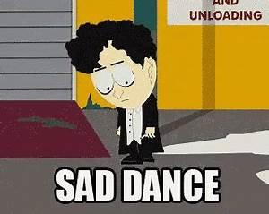 Sad Dance GIF - Emo Goth Southpark - Discover & Share GIFs