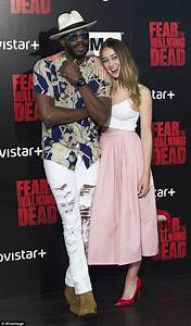 Alycia Debnam-Carey and Colman Domingo pictured at Fear ...