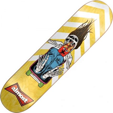 Almost Skateboard Decks 775 by Almost Skateboards Almost Coffin Run Deck 7 75