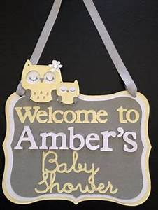 Owl Themed Baby Shower Decoration set. Colors can be ...