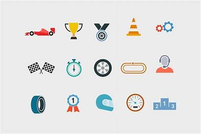 Racing Icons Race Formula Track Tyre Creativevip