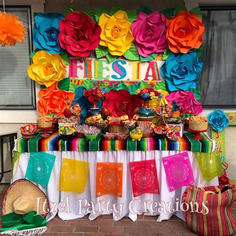 mexican party decorations ideas  pinterest
