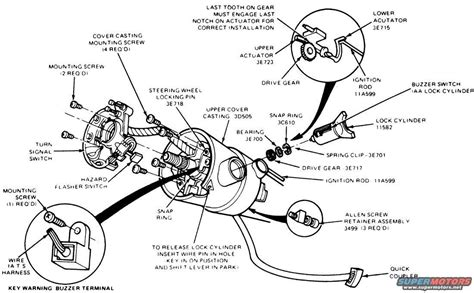 1994 Ford Ranger Steering Column Diagram by 1992 Ford Ranger Steering Column Diagram Wiring Diagram