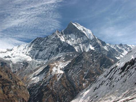Natural Beauty Of The Himalayan Mountains Of Tibet