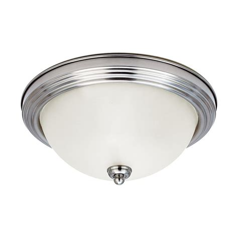 shop sea gull lighting ceiling flush mount 10 5 in w