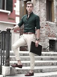 Pantalon A Pince Homme : 1001 id es pantalon chino homme indispensable et ~ Melissatoandfro.com Idées de Décoration