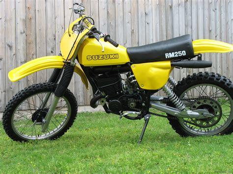 Suzuki Rm Parts by 1978 Suzuki Rm250 Dirt Bike Suzuki Rm250 Vintage Honda