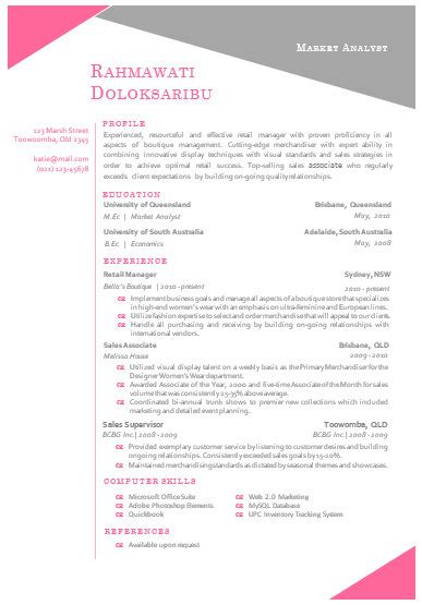 Modern Resume Template Word Format by Modern Microsoft Word Resume Template Rahmawat By Inkpower