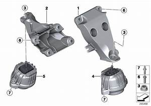 Bmw Z4 Engine Supporting Bracket  Right  Suspension