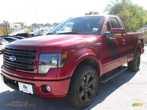 2014 Ford F150 FX2 Tremor Regular Cab in Ruby Red photo #5