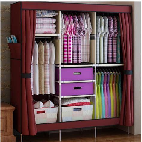 curtain shop 2017 portable clothes wardrobe closet cabinet