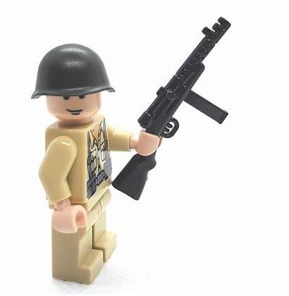 Mab Brickarms Lego Smg Msrp Minifigure