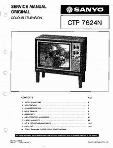 Sanyo 79p Chassis Ctp7624n Tv Sm Service Manual Download