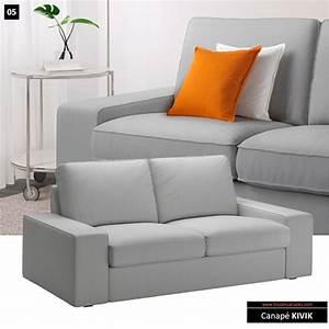Canapé Ikea 2 Places : 82 canap s convertibles et fixes moins de 400 euros ~ Teatrodelosmanantiales.com Idées de Décoration