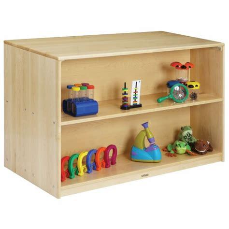 premium solid maple preschool mobile storage island 202   1638p 1