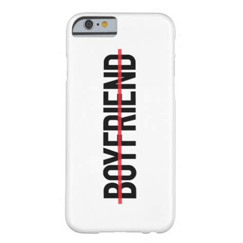 no boyfriend typography barely there iphone 6 case zazzle