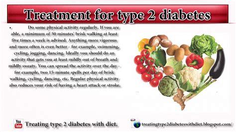 treatment  type  diabetes  healthy diabetic diet