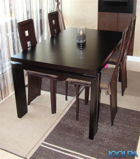 table a manger wenge table salle a manger wenge maison design hosnya