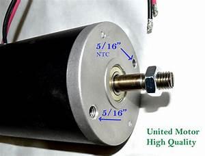 12 Volt D C  Motor Permanent Magnet Dc 12 Vdc Engine