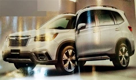 2019 Subaru Forester  Images Leaked Ahead Of Debut