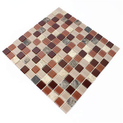 self adhesive glass mosaic tiles emperador