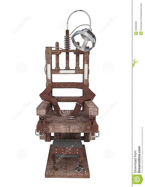 chaise électrique electric chair stock illustration image 39682338