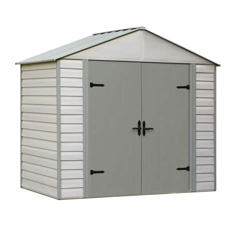 8 x 5 shed arrow viking series 5 ft x 8 ft vinyl coated steel shed