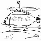 Coloring Submarines Submarine Underwater Chakiradecor Epic Sheet Sheets Parts sketch template