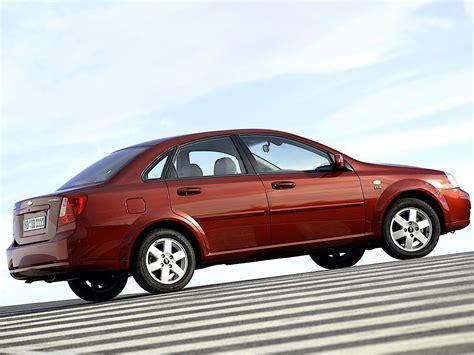 Chevrolet Nubira/lacetti 4 Door Specs & Photos