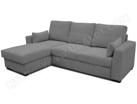 ubaldi canape canapé lit ub design loubna angle réversible gris pas cher
