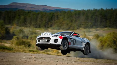 Meet The Jaguar F-type Made For The Off-road