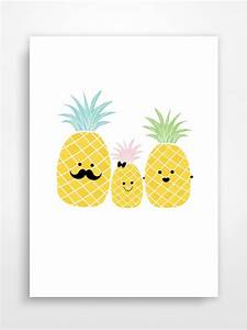 best 25 pineapple illustration ideas on pinterest With affiche chambre bébé avec top à fleurs