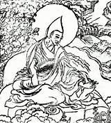 Monastery Drawing Lama Getdrawings sketch template