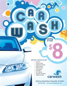 Car Wash Flyer Templates Free
