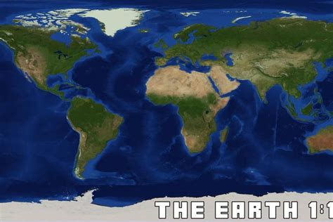 creating earth   scale  minecraft  verge