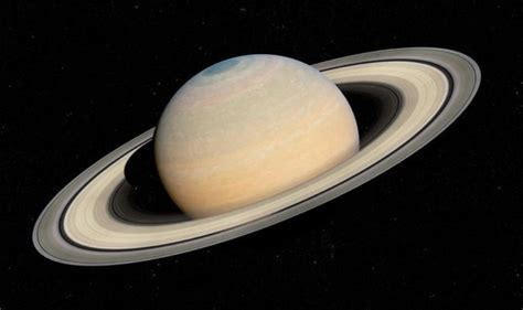 Saturn Night How See Rings Closest