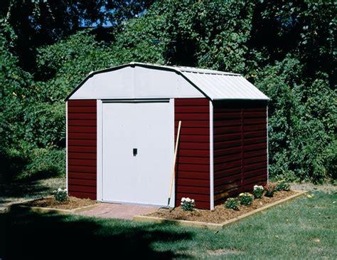 arrow metal sheds kits arrow barn 10 x 8 storage shed rh108