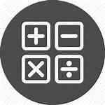 Icon Calculation Estimate Mathematics Calculate Math Financial