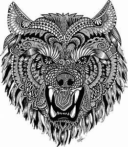 Wolf Mandala: Stickers Redbubble