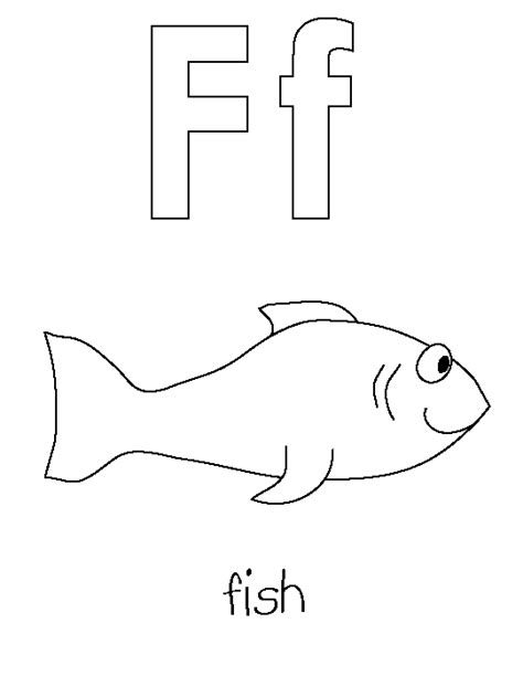 Coloring Letter F by Letter F Coloring Pages To And Print For Free