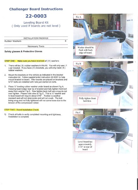2014 Chevy Ionic Nerf Bars Installation Instructions