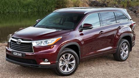 The toyota kluger, known as the toyota highlander in north america, is a crossover suv assembled by toyota under the toyota brand name in its kyūshū, japan assembly plant and its ikeda, osaka, japan assembly plant during 2008 and present. Toyota Kluger GXL AWD 2014 review   CarsGuide