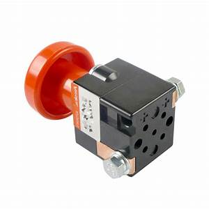 125a Amp Emergency Disconnect Switch Manual Stop Battery
