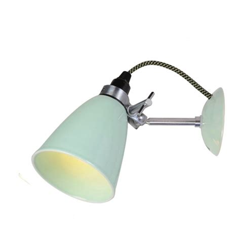 hector small dome wall light light blue or