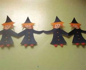 Bastelideen Für Halloween : kostenlose bastelvorlage halloween hexen girlande zum basteln basteln malen kinder ~ Whattoseeinmadrid.com Haus und Dekorationen