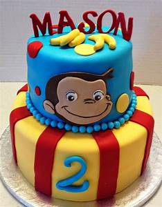marymel cakes a curious george 2nd birthday With curious george cake template
