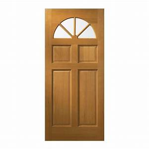 Wood doors front doors doors the home depot for Home depot doors exterior