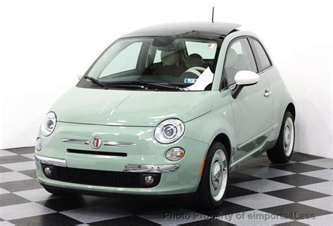 2014 Used Fiat 500 Certified 1957 Edition Coupe At